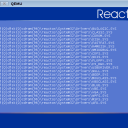 ReactOS running in QEMU