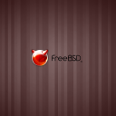 Red Stripe BSD Wallpaper by Skylar Mckindley