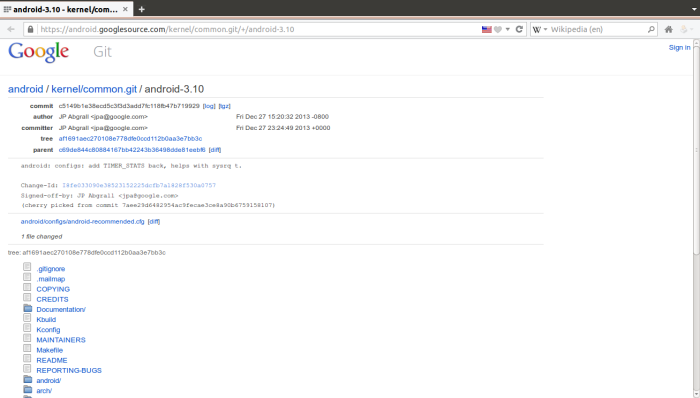 Downloading-the-Android-Kernel