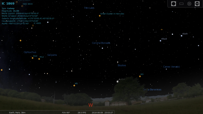 Stellarium-Night-Sky